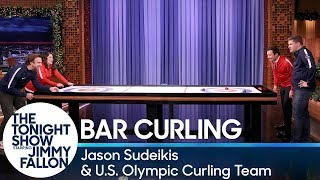 Download Bar Curling with Jason Sudeikis and the U.S. Olympic Curling Team Video