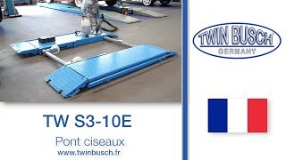 Download TW S3-10 E : Pont ciseaux hauteur de levage 1m de TWIN BUSCH ® Video