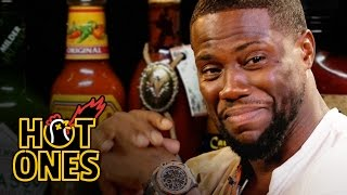 Download Kevin Hart Catches a High Eating Spicy Wings | Hot Ones Video