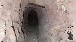 Download Exploring 300 Foot Decline Shaft In Abandoned Ag Au Cu Mine Video
