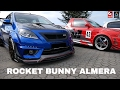 Download Nissan Almera Custom Modified with Rocket Bunny Kits Video
