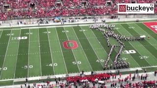 Download Ohio State Marching Band ″Michael Jackson Tribute″ - Halftime vs. Iowa: 10-19-13 Video