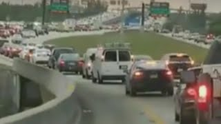 Download Check Out the Highway Traffic in Florida as Families Evacuate Before Irma Video