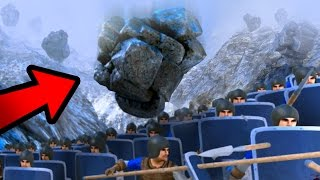 Download AVALANCHE VS 10,000 PENGUINS + STEVE!!! | Ultimate Epic Battle Simulator HD Video