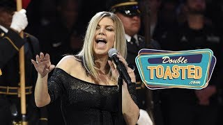 Download FERGIE NATIONAL ANTHEM AND OTHER TERRIBLE PERFORMANCES Video