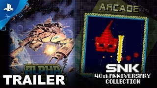 Download SNK 40th Anniversary Collection - Alpha Mission & Vanguard   PS4 Video