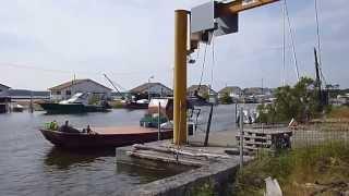 Download Oyster Port Arès , Arcachon Bay, France Video