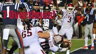 Download Longest College Football Games (5+ Overtimes) Video