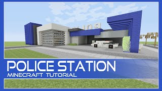 Download Police Station Tutorial Minecraft Xbox/Playstation/PE/PC/Wii U Video