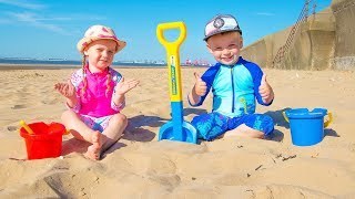 Download Funny Kids Pretend Play with Toys Video for Children from Gaby and Alex Video
