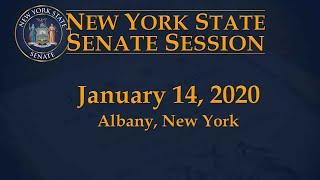 Download New York State Senate Session - 01/14/2020 Video