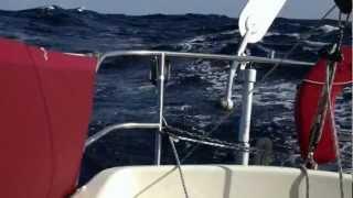 Download Albin Vega Spray sailing in the North Atlantic Video