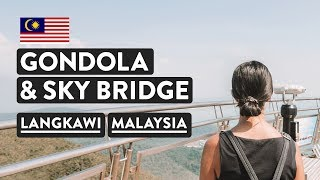 Download MUST DO ON LANGKAWI ISLAND 🚀Skycab Cable Car & Skybridge | Malaysia Travel Vlog Video