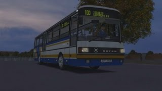 Download OMSI 2. Map Chistogorsk, Route 100 (Sorokin-Korenevo), Setra S 215 UL. Video