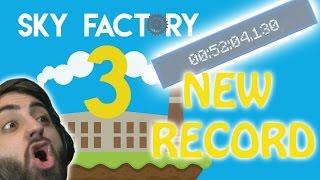 Download WORLDS FASTEST RUN?! | Sky Factory 3 SpeedRun Video