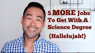 Download 5 MORE Jobs You Can Get With A Science Degree (That You Still Don't Know About!) Video