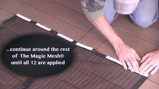 Download Magic Mesh Hands-Free Screen Door - Single Door Tip Video Video