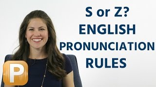 Download Is it S or Z? American English Pronunciation Rules Video