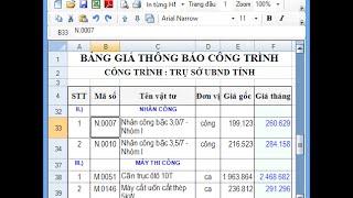 Download Tính đơn giá Nhân công, Ca máy theo Thông tư 05 và 06/2016/TT-BXD Video