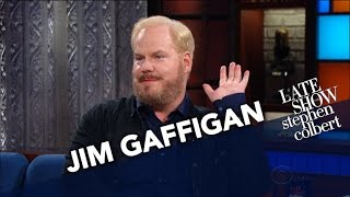 Download Jim Gaffigan Knows Why The Elderly Go To Church Video