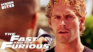 Download Brian Meets Dom Toretto For The First Time | The Fast And The Furious | SceneScreen Video