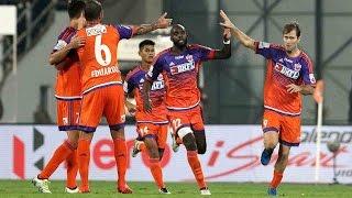 Download FC Pune City script fascinating 4-3 ISL 2016 win vs Delhi Dynamos FC Video