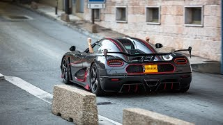 Download Woman drives her Full Carbon Koenigsegg Agera RS In Monaco ! Video