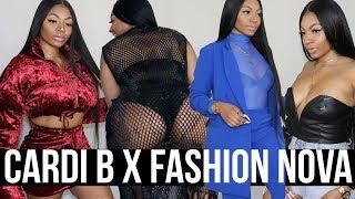 Download CARDI B X FASHION NOVA Try On HAUL ( SUS THE REAL TEA IS....) Video