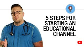 Download YouTube pros share 5 steps for getting your educational channel started Video