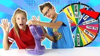Download Mystery Wheel of DUMP IT Slime Challenge!!! Video