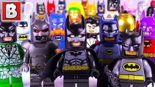 Download Every LEGO BATMAN Minifigure EVER MADE!!! | $800+ Minifig! | 2018 Collection Review! Video
