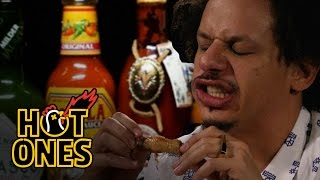 Download Eric Andre Turns Into Tay Zonday While Eating Spicy Wings | Hot Ones Video