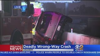 Download 2 Killed In 5 Freeway Wrong-Way Crash Video