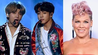 Download 10 BEST Moments From 2017 AMAs Video