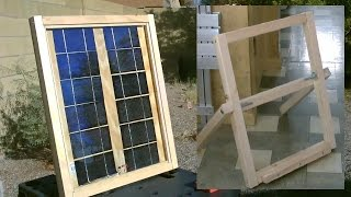 Download Homemade Solar Panel ″Stand″ - Easy DIY stand (for my DIY solar panel) - Full Instr. Video