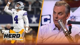 Download Colin Cowherd says Dak is the Cowboys future at QB, talks the Chicago Bears big win | NFL | THE HERD Video
