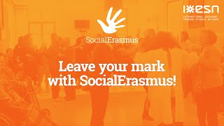 Download Leave your mark with SocialErasmus Video