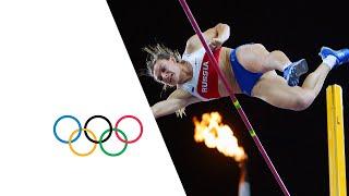 Download Yelena Isinbayeva Wins Gold in Pole Vault - Athens 2004 Olympics Video