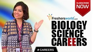 Download CAREERS IN BIOLOGY SCIENCE – B.Sc,M.Sc,Science technician, Research,Job Opportunities,Salary Package Video