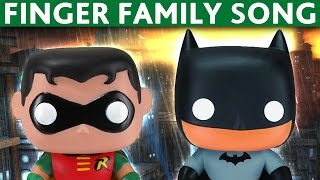 Download FINGER FAMILY NURSURY RHYMES Batman and Robin Joker Cat Woman Video