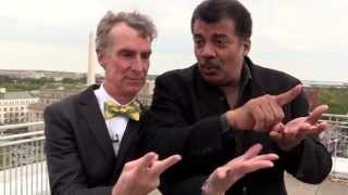Download Bill Nye & Neil deGrasse Tyson on a Roof Video