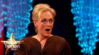 Download Meryl Streep 'Not Pretty Enough' To Be In King Kong - The Graham Norton Show Video