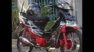 Download Motor Trend Modifikasi | Video Modifikasi Motor Honda Supra 100 cc Velg Jari-jari Minimalis Terbaru Video