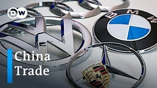 Download German industry leaders push for tougher trade policy towards China | DW News Video