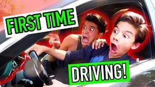 Download Little Bros FIRST DRIVING LESSON! *$150,000 Luxury Car* Video