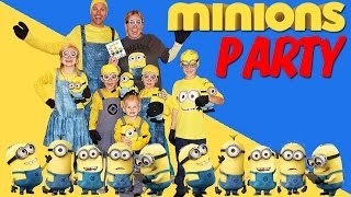 Download MINIONS PARTY!! Video