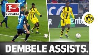 Download Assist Hero Dembele - Götze and Aubameyang Provide the Goals Video