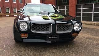 Download 1973 Pontiac Firebird Trans Am 455 w/ Factory 4 Speed Video