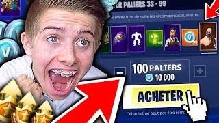 Download J'ACHETE TOUT LE PASS DE COMBAT SAISON 5 ET JE DÉCOUVRE LA NEW MAP SUR FORTNITE BATTLE ROYALE !!! Video