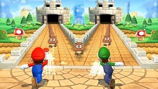 Download Mario Party 9 Minigames - Mario vs Luigi vs Yoshi vs Birdo Video